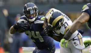 Falcons will send SJax, a 3rd rounder and Kim Zolciak for Lynch and 10% of the heart of the Seattle fan base Deal? Deal!