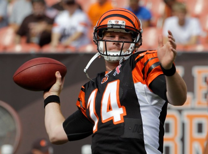 Why Andy Dalton? Why not?