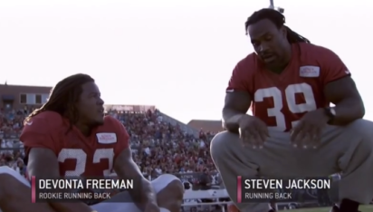 Steven Jackson is a large human being