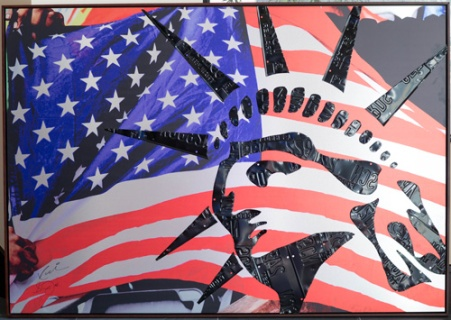 Liberty, artwork by Steven Jackson