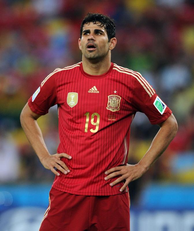 Espana Is Wondering What Happened to Diego Costa????