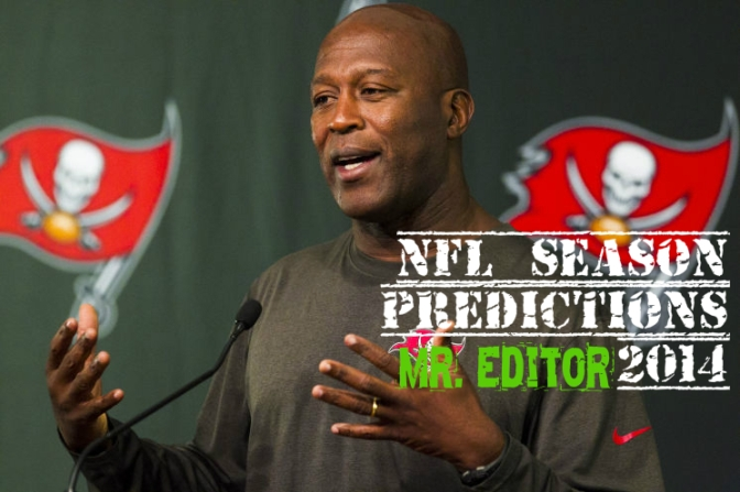 NFL Season Predictions 2014 (Mr. Editor)