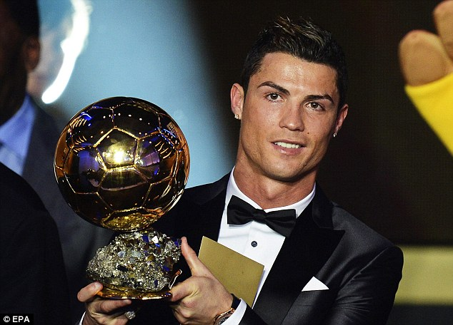 Cristiano Ronaldo Adds More Hardware To The Trophy Room.